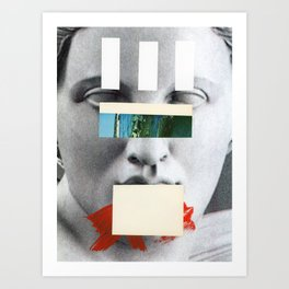 Untitled Composition 750 Art Print