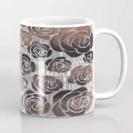 Newsprint Graffiti Coffee Mug