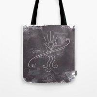 graffiti Tote Bags featuring Graffiti by Isaak_Rodriguez