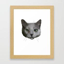Cattitude Framed Art Print