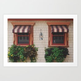 The Inn Lantern. Art Print