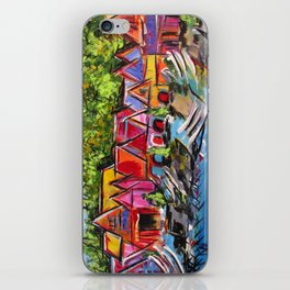 Philadelphia's Boathouse Row iPhone Skin