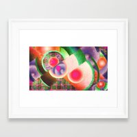funky Framed Art Prints featuring Funky by Joel Olives