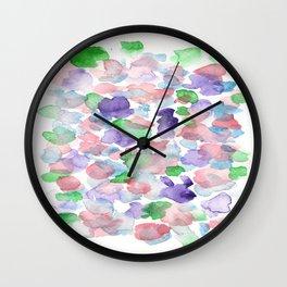 150725 My Happy Bubbles 23 Wall Clock