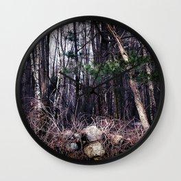 Fallen Birch Wall Clock
