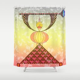 El de timanfaya Shower Curtain