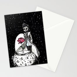 El principito dark Stationery Cards