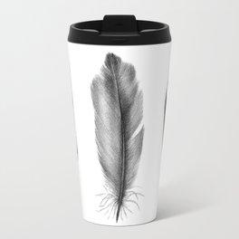 Blue Jay Feathers | Bird | Animal | Painting | Art | Animals Travel Mug