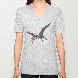Pteranostorm - Superhero Dinosaurs Series Unisex V-Neck