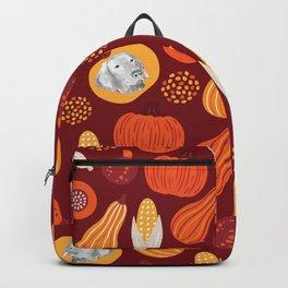 WEIMARANERS AND SQUASH Backpack