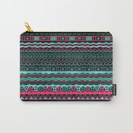 Colorful  Aztec Inca Mayan Pattern Carry-All Pouch