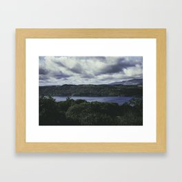 Moody Lake Windermere - Landscape and Nature Photography Framed Art Print