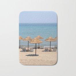 Beach Umbrellas, Zante Bath Mat