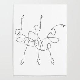 Ballet x 3 Poster