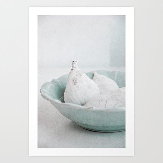 white fruits Art Print