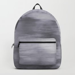 Fusion Abstract Watercolor Blend Pantone Lilac Gray / Fluid Art Ink Backpack