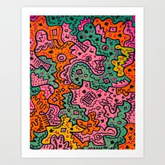 Totally Abstract Art Print