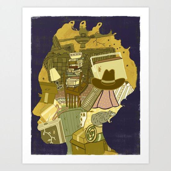 HOARDERS  Art Print