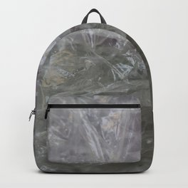 foil cloud wrinkle structured surface Backpack