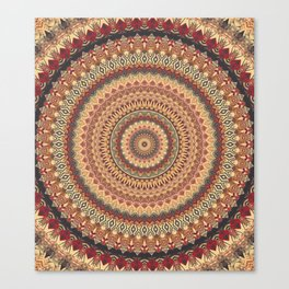 Earth Mandala 3 Canvas Print