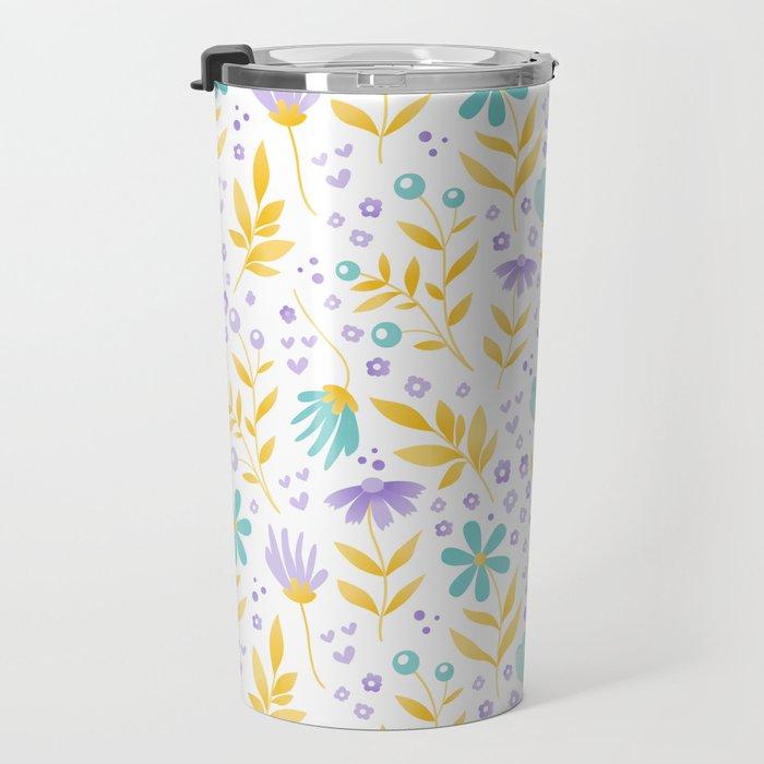 Florals Travel Mug