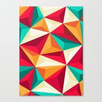 diamond Canvas Prints featuring Diamond by Azarias