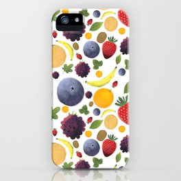 Tutti Frutti iPhone Case