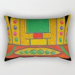 Buddha of the Future Rectangular Pillow