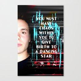 Dancing Star Canvas Print