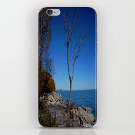 So Near, But Yet So Far #1 (Chicago Northerly Island Collection) iPhone Skin