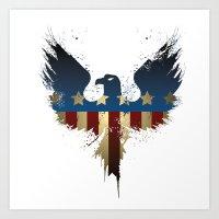 American Eagle Art Print