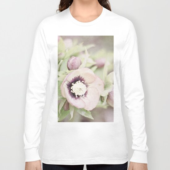Pastel Flowers Long Sleeve T-shirt