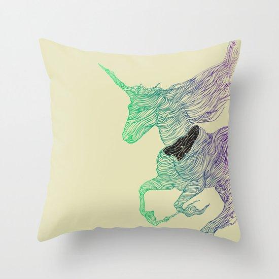 Dissolve  Throw Pillow