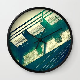 Portageville Bridge Wall Clock