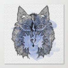 Wolfee Canvas Print