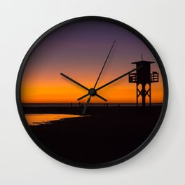 Tarifa sunset Wall Clock