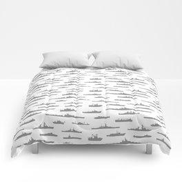 Battleship // Grey Comforters