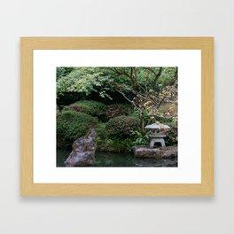 Blossom Pond Framed Art Print