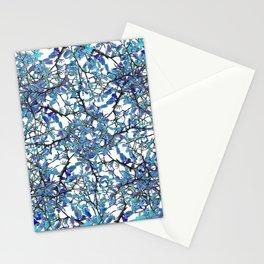 Modern Nouveau Pattern Stationery Cards