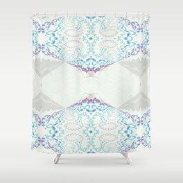 Hawaiian Diamond Header Pattern 1 Shower Curtain