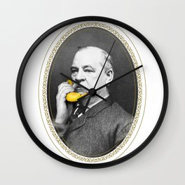 Grover Cleveland & Bananaphone Wall Clock