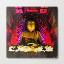 Magnificent Buddha statue Metal Print
