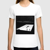 apollonia T-shirts featuring asc 593 - Le silence des cigales (The midnight lights) by From Apollonia with Love