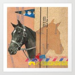 """Strides"" Art Print"