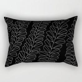white ink 01 Rectangular Pillow