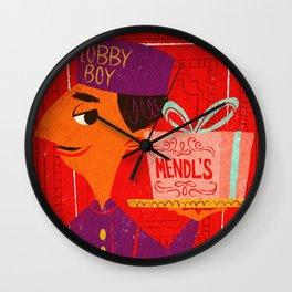 Mendl's Wall Clock