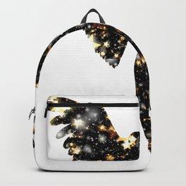 Christmas Angel Flies Into Infinity Backpack
