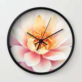 Lotus Flower   Zen   Peace   Spring   Easter   Bohemian   Boho Wall Clock