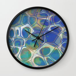 Modern Abstract Painting One Wall Clock