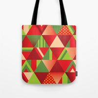 strawberry Tote Bags featuring strawberry by Gray